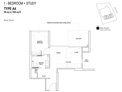 sky-everton-floor-plan-1-bedroom-+-study-a4-singapore