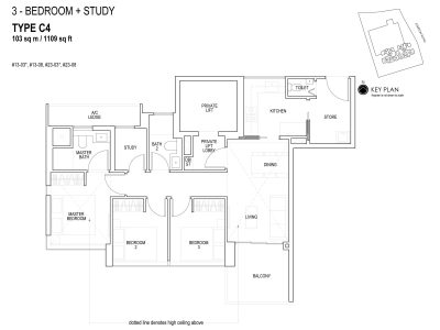 sky-everton-floor-plan-3-bedroom-+-study-c4-singapore
